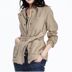 Tan Military Jacket
